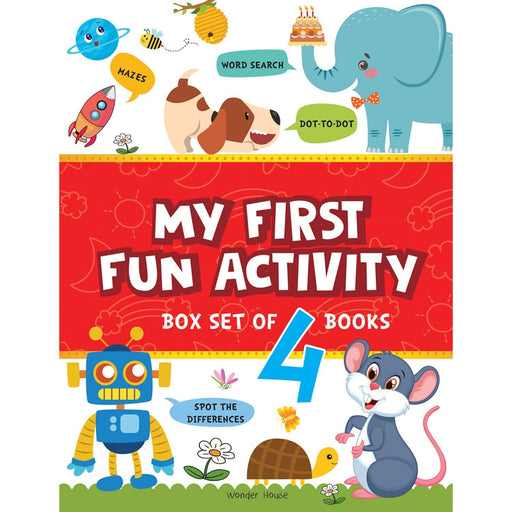 Wonder House Books -My First Fun Activity : Boxset Of 4 Books