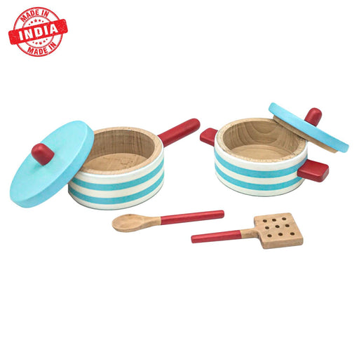 The Nestery : Wufiy - Pot Pan Set With 2 Spoons