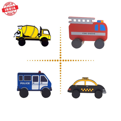 The Nestery : Wufiy - Vehicles - Set Of 4