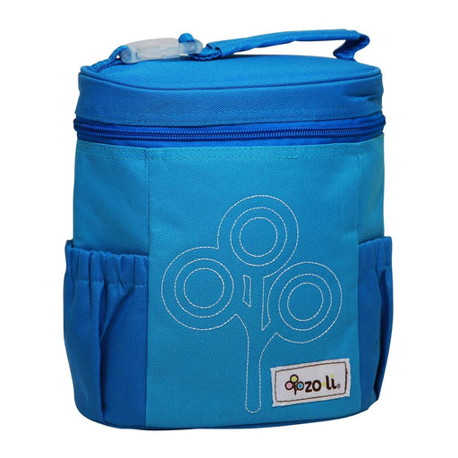 The Nestery: Zoli Usa - Nom Nom Insulated Lunch Bag - Blue
