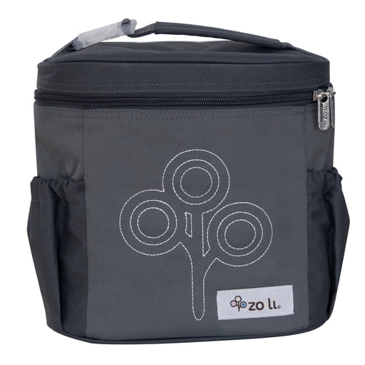 The Nestery: Zoli Usa - Nom Nom Insulated Lunch Bag - Grey