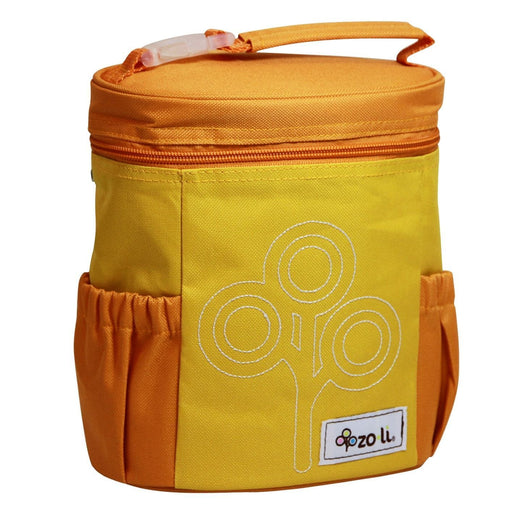 The Nestery: Zoli Usa - Nom Nom Insulated Lunch Bag - Orange