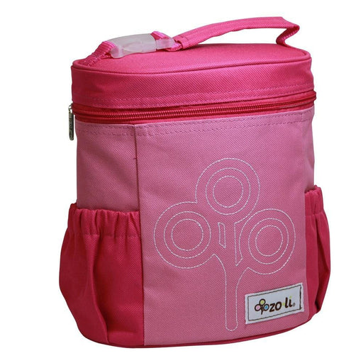 The Nestery: Zoli Usa - Nom Nom Insulated Lunch Bag - Pink