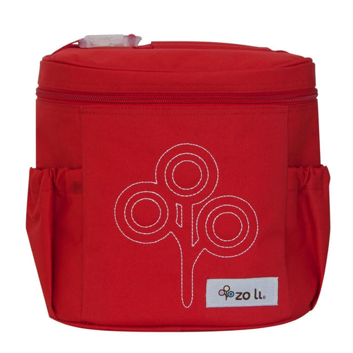 The Nestery: Zoli Usa - Nom Nom Insulated Lunch Bag - Red