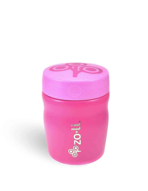 The Nestery: Zoli Usa - Pow Dine Stainless Steel Insulated Food Jar - Pink - 355 Ml
