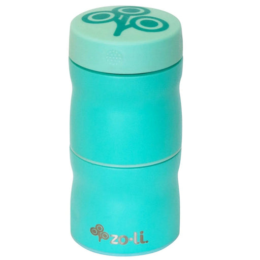 The Nestery : Zoli-Pow This & That Stackable Stainless Steel Insulated Food Jar - mint - 235 ml