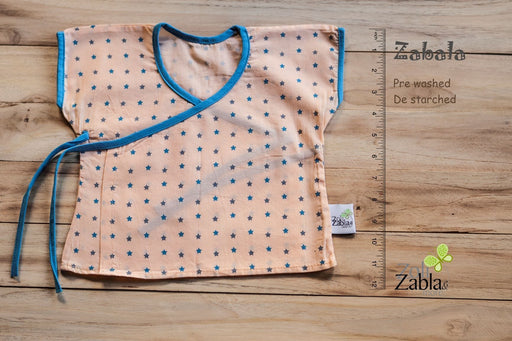 The Nestery: Zoli Zabla & More - Zabla - Stars Kimono (Orange & Blue)