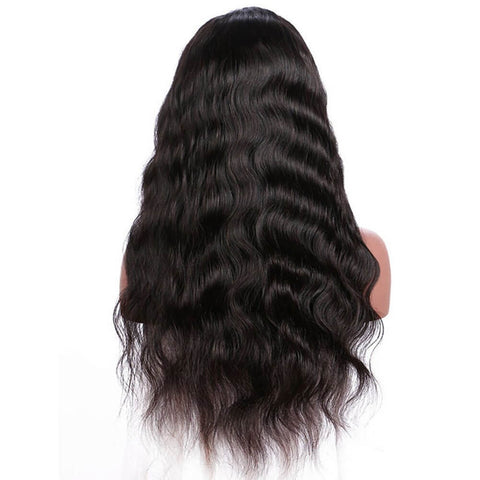 Glueless Pre-Made Fake Scalp 13x6 Lace Front Wigs  Body Wave Invisible Knots