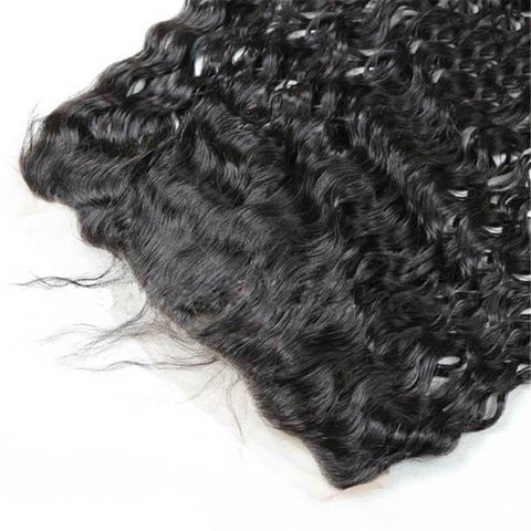 13x4 Lace Frontal  Natural Wave