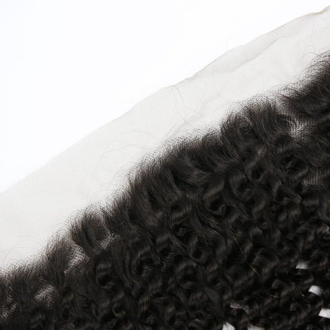 13x4 Lace Frontal  Kinky Curly