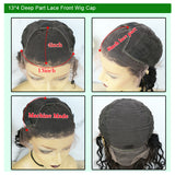 13X4 Lace Front Wig  Short Bob Wig Body Wave