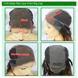 13x6 lace wig cap construction wide adjustment band1