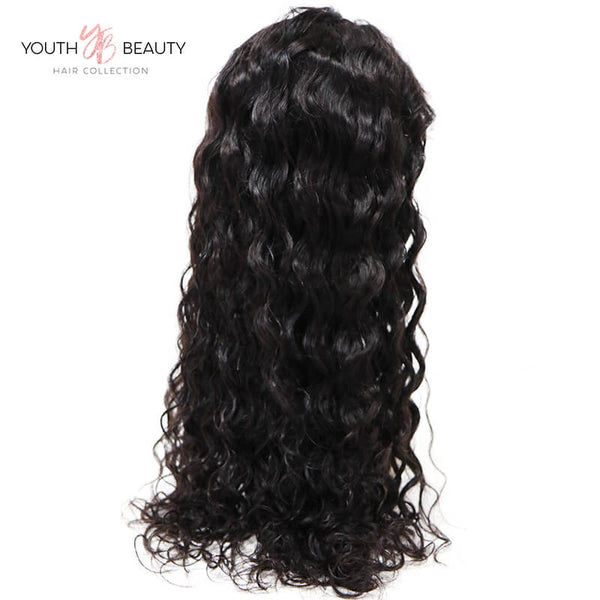 13x6 Lace Front Wig Natural Wave