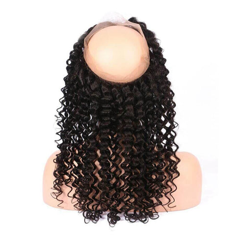 360 Lace Frontal Closure Deep Wave