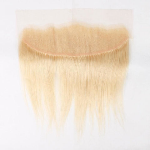 13x4 Lace Frontal Blonde color #613  Straight