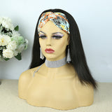 Lazy Girl Headband Wig Brazilian Hair Kinky Straight