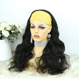 Lazy Girl Headband Wig Brazilian Hair Body Wave