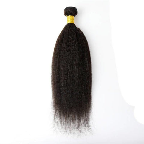 1 Bundle Kinky Straight Brazilian Hair