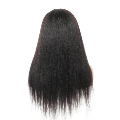 13X4 Lace Front Wig Yaki Straight