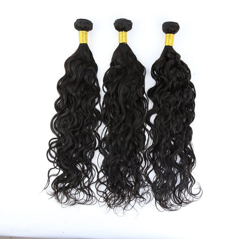 3 Bundle Natural Wave Brazilian Hair