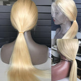 NEW #613 Blonde Color 13x6 Lace Front Wig Silky Straight