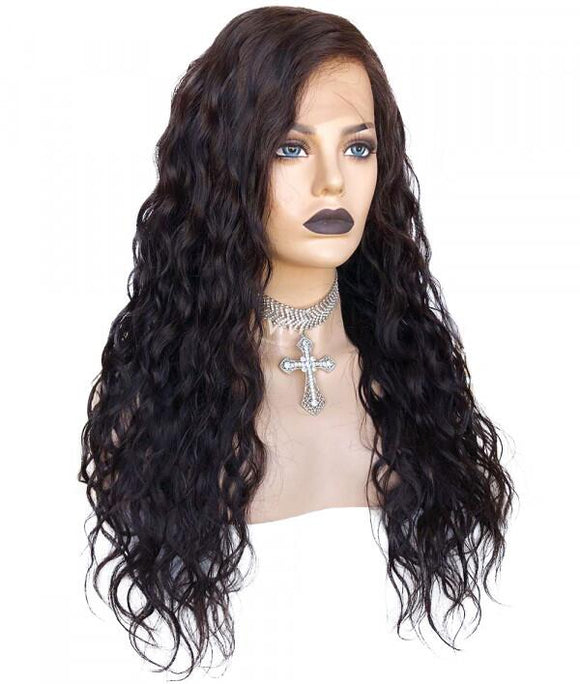 13x6 Transparent Lace Front Wig Natural Wave