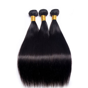 3 Bundle Straight  Brazilian Hair