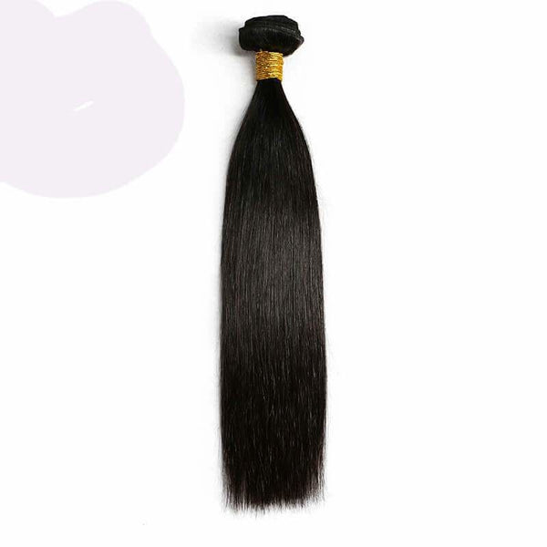 1 Bundle Silky Straight Brazilian Virgin Hair