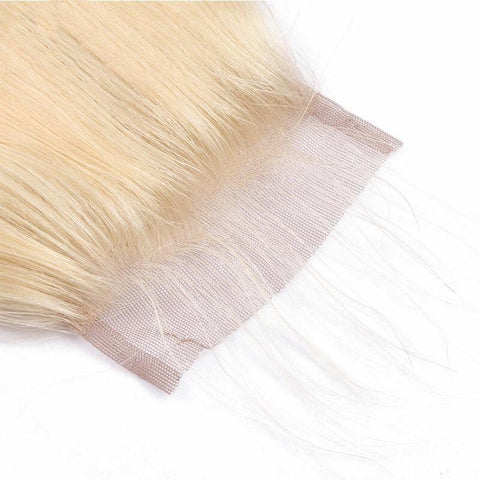 4x4 Lace Clousre Blonde color #613 Body Wave