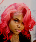 Ms Candy Hair short BOB 13x6 lace wig custom colored wig