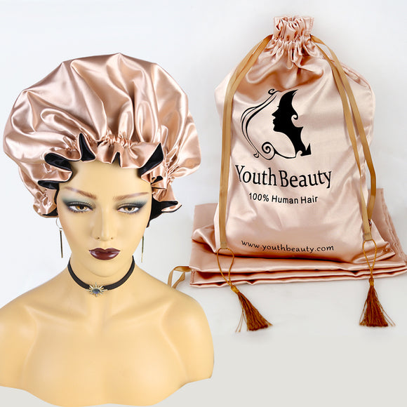 Reversible Satin Hair Bonnet