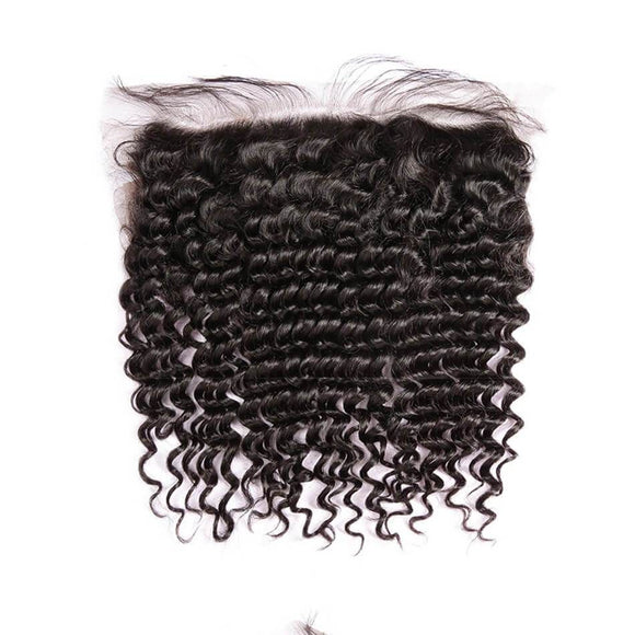 13x4 Lace Frontal  Deep Curly
