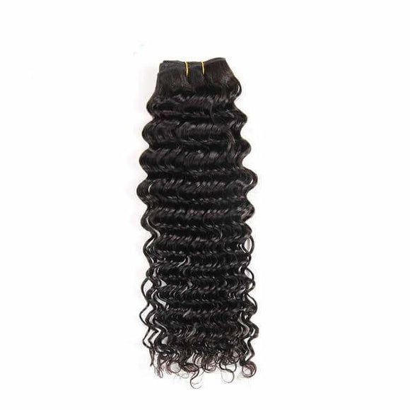 1 bundle Deep Wave Brazlian Hair