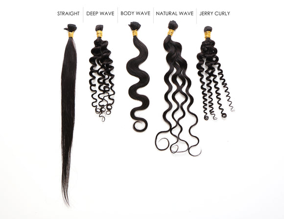 Hair Bundle Style Sample Kit