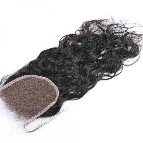 4x4 Lace Closure Natural Wave