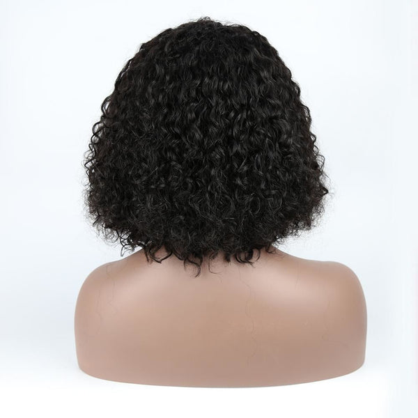 13x4 Lace Front Wig Short Bob Wig Loose Curly Youth