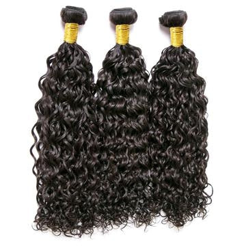 3 Bundle Water Wave Brazilian Hair