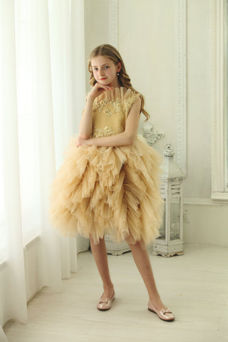 Short girl dress for special occasion