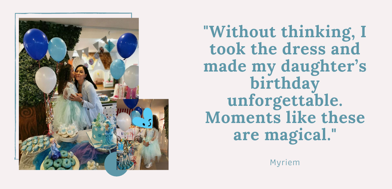 myriem testimonial about renting service at L'ANISE