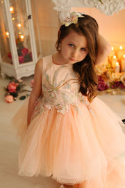 children's dress - princess dress - tulle dress - tulle skirt - children's clothes - wedding dress