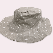 Children's accessoires - children's hat - summer hat - babygirl hat - star pattern