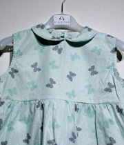 children's clothes - children's dress - summer dress - baby girl dress - baby girl clothes - butterfly pattern
