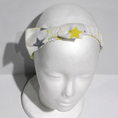 children's accessoires - children's hairband - babygirl hairband - star pattern