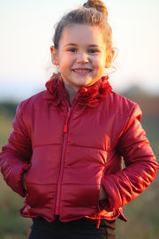 children's clothes - children's winter clothes - children's jacket - children's winter jacket - winter jacket - down jacket - red jacket