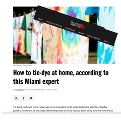 Live and let dye in Time Out Magazine