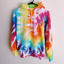 Load image into Gallery viewer, Rainbow Hoodie - Live & Let Dye