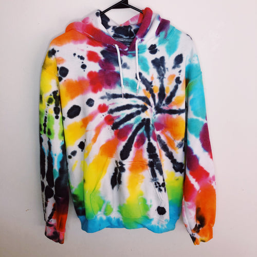 Youth Rainbow Spider Hoodie