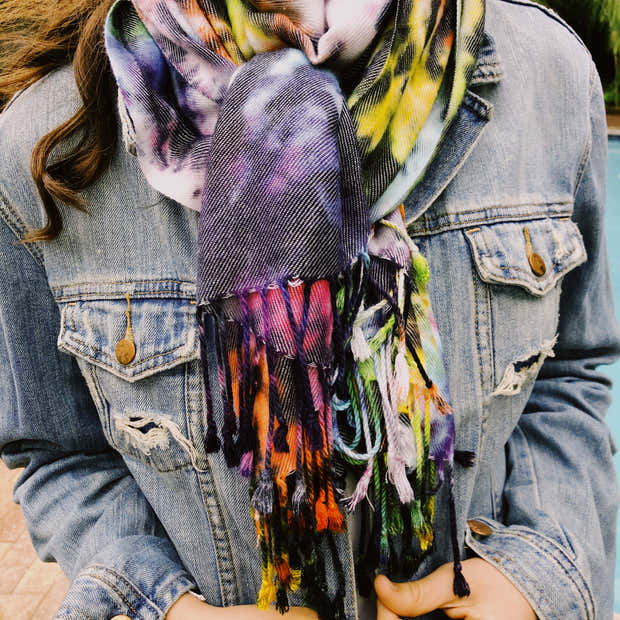 The Spider Scarf 1