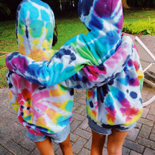 Load image into Gallery viewer, Youth Rainbow Spider Hoodie - Live & Let Dye
