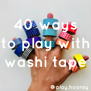 Ways to Play with Washi Tape